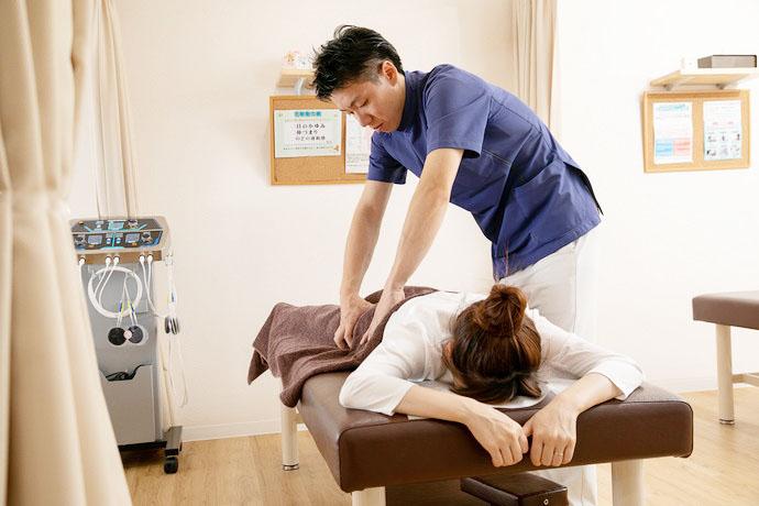 星野鍼灸整骨院 腰痛の画像